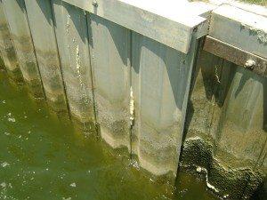 Stop soil erosion by sealing bulkheads with URETEK