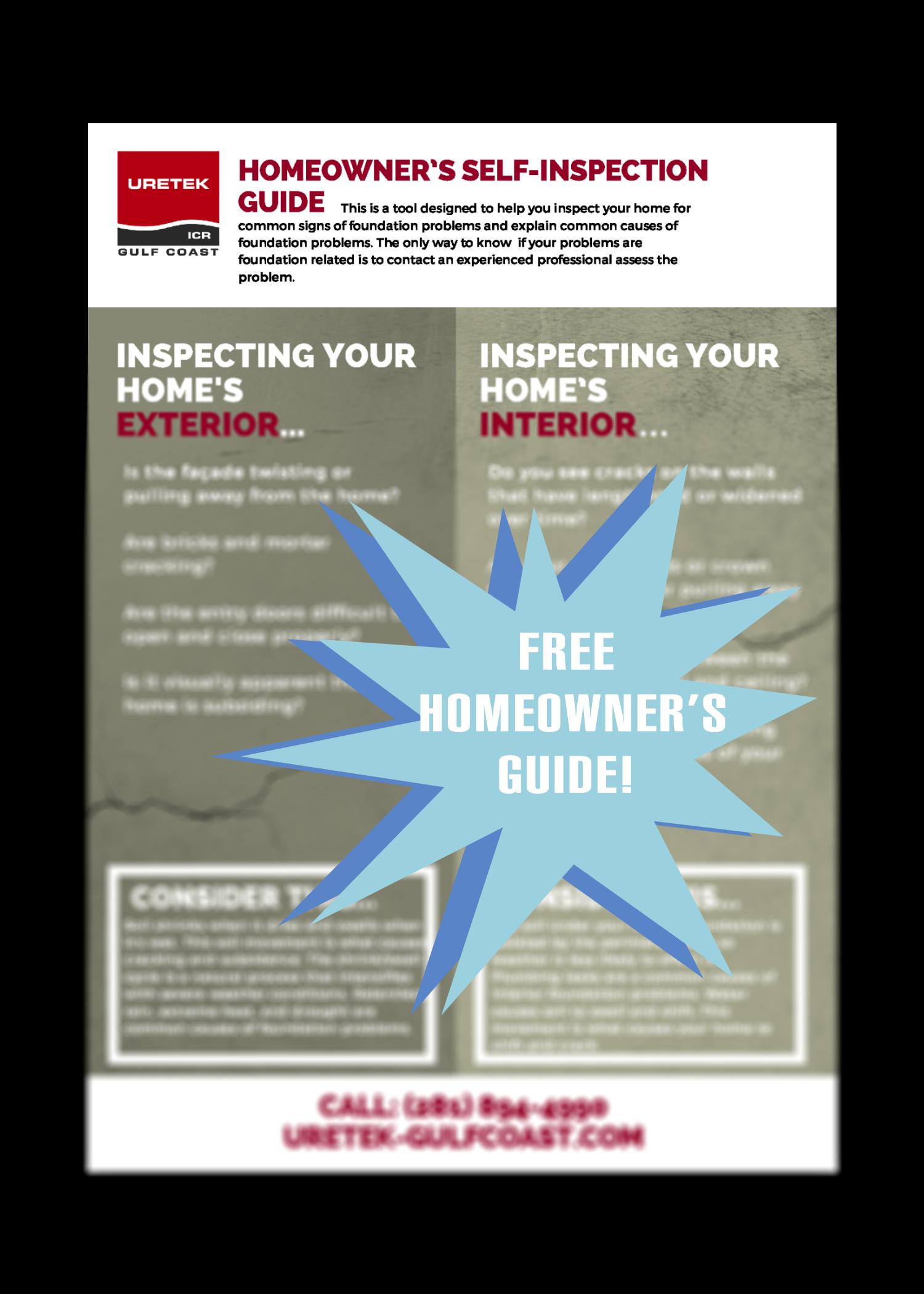Homeowner's Self-inspection Checklist