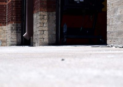 Houston Kwik Kar concrete after URETEK