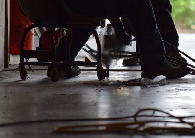 URETEK Lifts and Stabilizes Pumping Concrete at Carpet Warehouse
