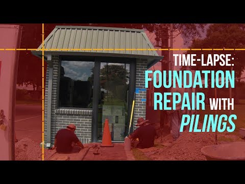 Houston Foundation Repair with Pressed Pilings