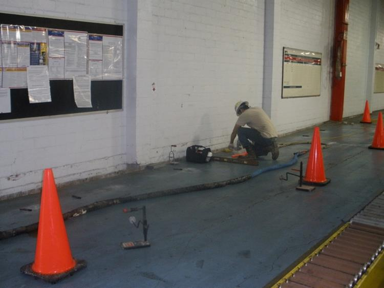 Clean commercial foundation repair service in Houston