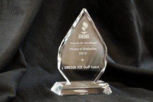 BBB Winner of Distinction Award