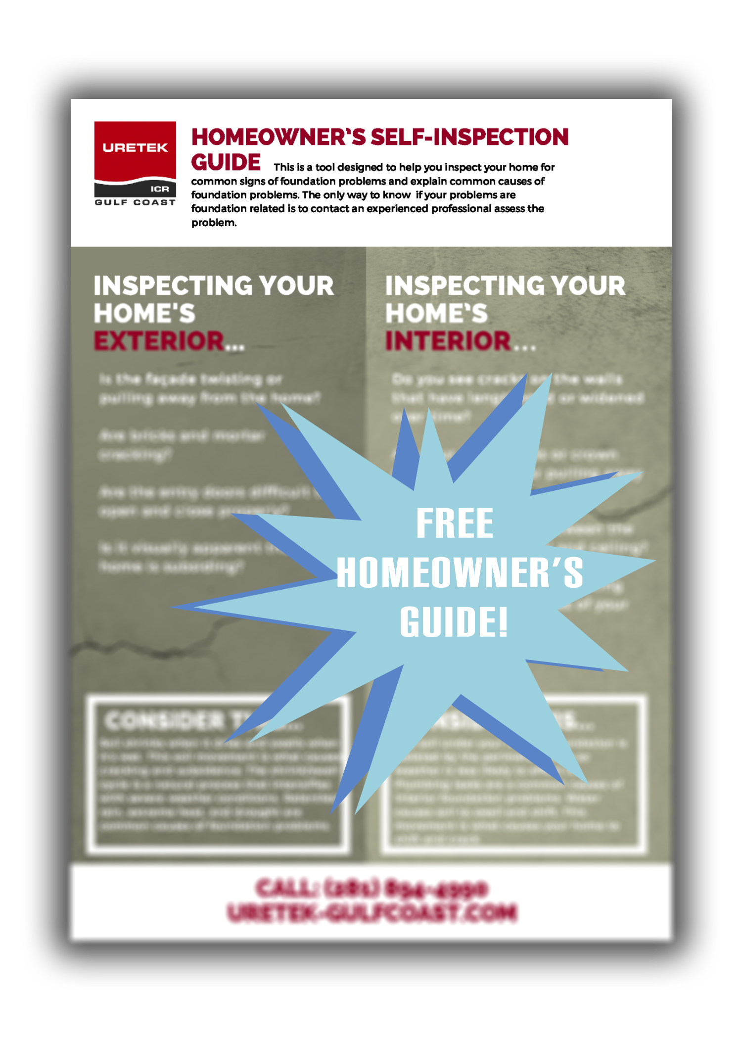 Homeowner's Self-inspection Checklist