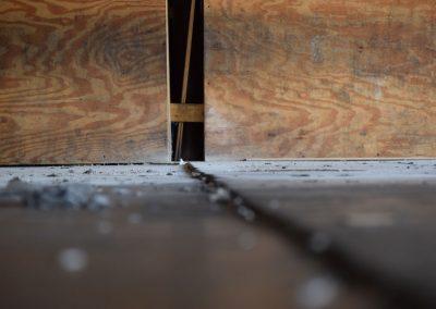 Before URETEK Method Inside Warehouse