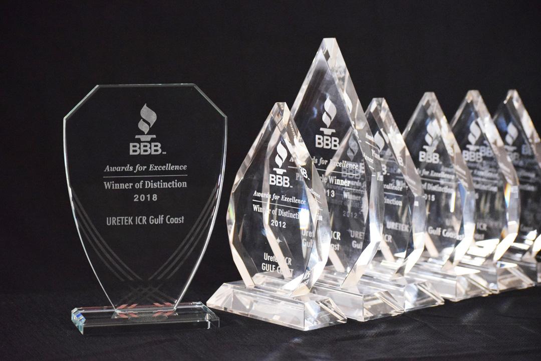 Uretek Icr Gulf Coast Receives Seventh Winner Of Distinction Award