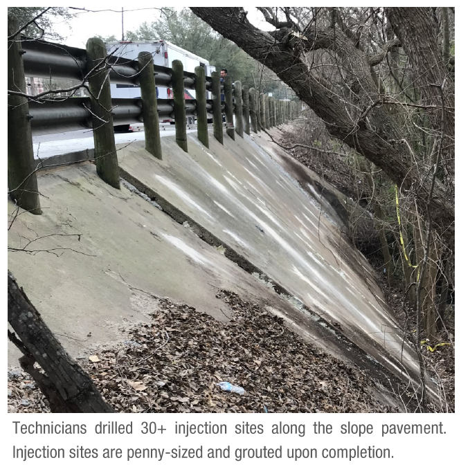 Soil Erosion and Stabilization at Drainage Canal