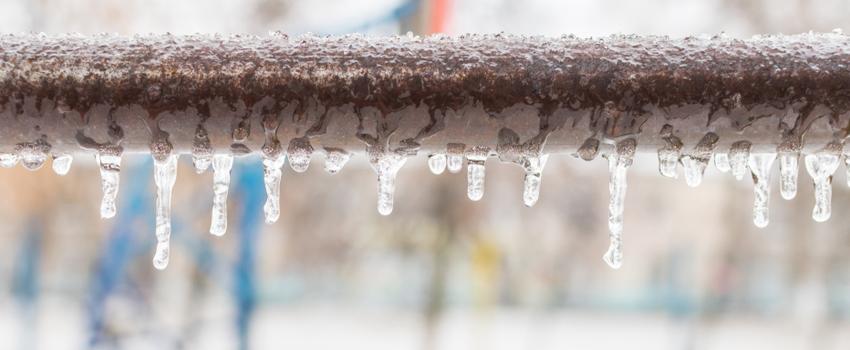 frozen pipe foundation damage